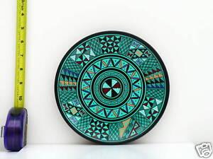New-Hand-Painted-Ceramic-8-Decorative-Plate-Original
