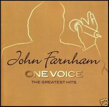 JOHN FARNHAM (2 CD) ONE VOICE ~ GREATEST HITS / BEST OF ~ SADIE 70's 80's *NEW*