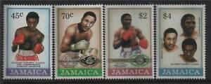 Jamaica 1986 Boxing SG 658/61 MNH