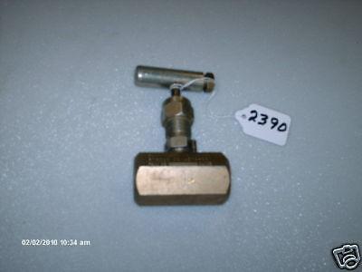 Anderson Greenwood Needle Valve H7hc4q02-4076 1/2
