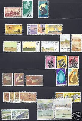 South West Africa 1971 6 12 Sets 2 Sheets Vf Mnh
