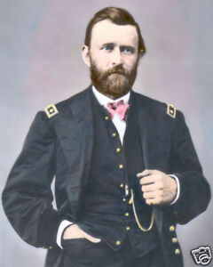 6 Sizes! Ulysses S Grant New Colorized Photo Poster: Union Civil War Gen