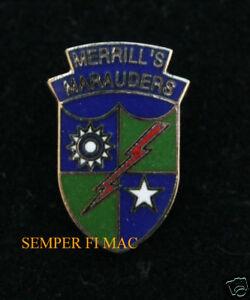 MERRILLS-MARAUDERS-WW-II-US-ARMY-RANGERS-BURMA-HAT-PIN-5307th-COMPOSITE-UNIT