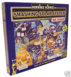 Horrible Science Smashing Solar System Jigsaw Puzzles
