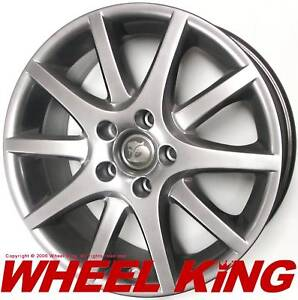 NEW GENUINE HSV WH Grange Shadow Chrome 18x8 Rim Set
