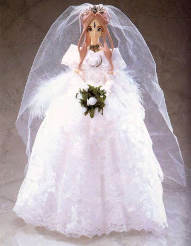 Volks Ah Oh My Goddess June Bride Belldandy Statue Figure New Authentic
