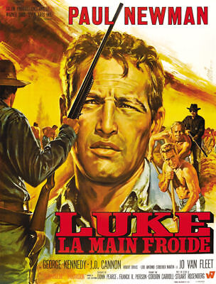Cool hand Luke Paul Newman movie poster #A27 on Rummage