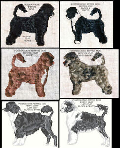PORTUGUESE-WATER-DOG-COUNTED-CROSS-STITCH-PATTERNS