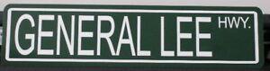 METAL-STREET-SIGN-GENERAL-LEE-HWY-GARAGE-BAR-CHARGER