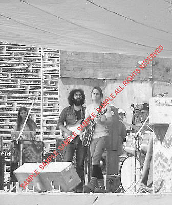 THE GRATEFUL DEAD 1972 SET OF 4 5x7 PHOTOS JERRY-BOB on Rummage
