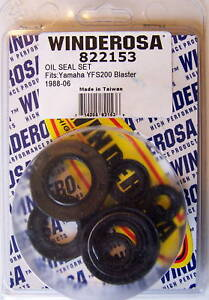1988-2006 YAMAHA BLASTER 200 **ENGINE CRANK OIL SEAL KIT**