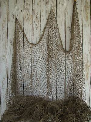 Authentic Used Fishing Net ~ Vintage Fish Netting Decor on Rummage