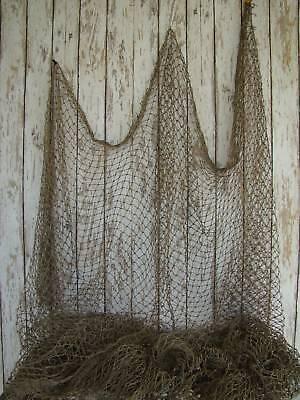Authentic used fishing net fish netting decor decorative for Fishing net decor ideas
