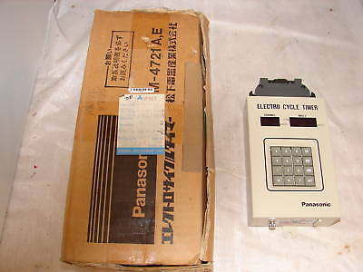 Panasonic Nm-4721e Cycle Timer 5v 1a