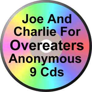Joe and Charlie for Overeaters Anonymous Seminar 9 CDs Worksheets ...