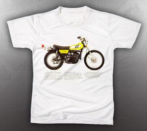 vintage yamaha dt400 shirt like nos