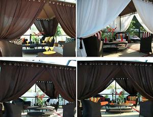 Patio-Pizazz-Outdoor-Gazebo-Drapes-Curtains-2-Panels-Furniture