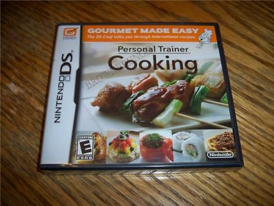 Personal Trainer: Cooking Nintendo Ds And Sealed