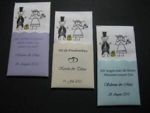 Gastgeschenke Taschentücher Hochzeit Freudentränen 30 Wedding DIY Kirchendeko