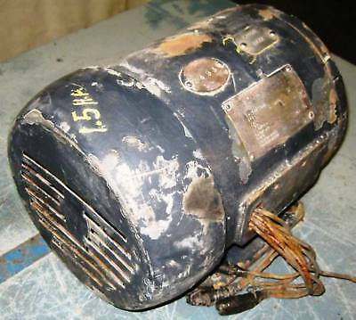 Allis chalmers induction motor 1 5 hp model 633 ebay for 1 2 hp induction motor