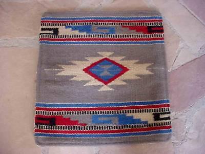 Southwestern Design Handwoven Wool Pillow Cover