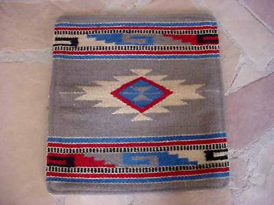 Southwestern Design Handwoven Wool Pillow Cover