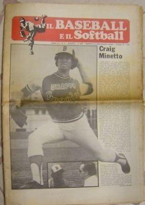IL BASEBALL E IL SOFTBALL N.2 1975 [DE680]