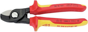 Knipex-95-18-165-VDE-Insulated-Cable-Cutter-Cutting-Shears-32014-NH