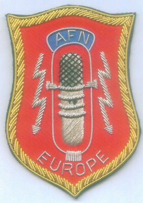 Us Correspondent Press News Radio Spy Network Afn Europe Army Allies War Patch C