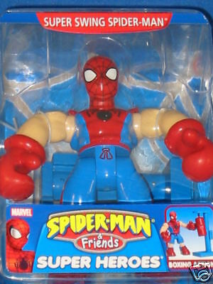 Spiderman & Friends Super Swing Spiderman Action Figure