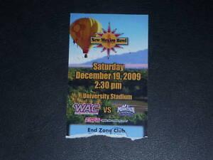 2009-NEW-MEXICO-BOWL-TICKET-STUB-WYOMING-FRESNO-ST
