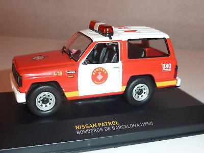 Nissan Patrol Des Pompiers De Barcelone