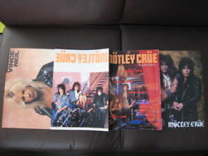 Motley-Crue-Complete-History-Japan-only-Book-in-1987
