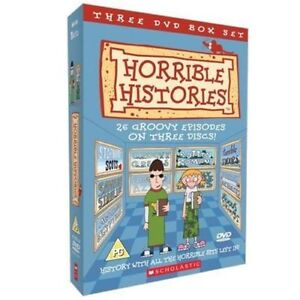 Horrible Histories - Complete Collection - 3 DVD SET - BRAND NEW SEALED