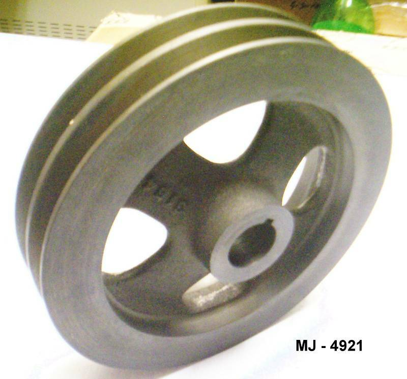 Mack Trucks Inc. - Dual Groove Steel Pulley - P/N: 302GC 3154P1  (NOS)
