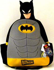 BATMAN-Kid-Boys-School-Bags-Backpacks-Rucksack-Satchels
