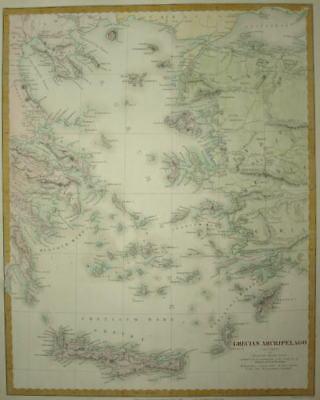 GRECIAN ARCHIPELAGO. CIRCA 1844. SDUK