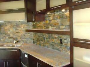 terra dark stack nat stone for walls backsplash panel