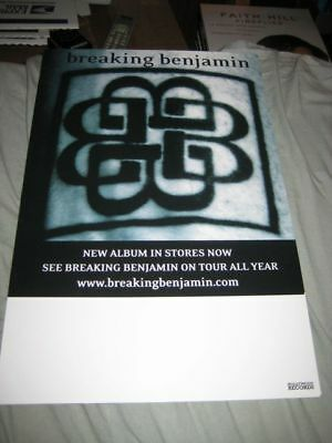 BREAKING BENJAMIN-(on tour)-11X17 POSTER-ORIGINAL-MINT