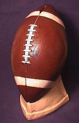 Rare 1950s Chalkware Football Bank Full Size