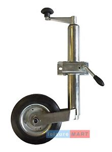 48mm jockey wheel Med duty and clamp trailer caravan