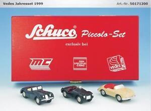 Schuco Piccolo Vedes Year Set 1999 Age 50171200