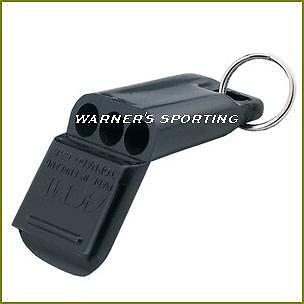 ACME TORNADO 635 PEALESS AIRFAST REFEREE WHISTLE  BLACK  on Rummage