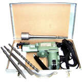 1-1/2 ROTARY HAMMER DRILL WITH CORE DRILL BIT HEAVY DUTY DEMOLITION TOOL