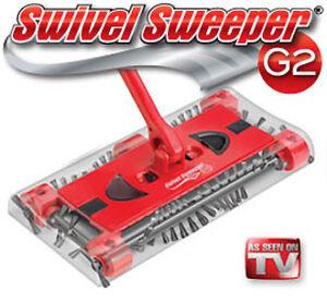 NIB-SWIVEL-SWEEPER-G2-CORDLESS-VACUUM-CLEANER-G2VACUUM