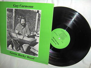 GUY CARAWAN-GREEN ROCKY ROAD folk vinyl LP