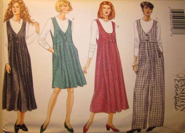 4145 Butterick Sewing Pattern Misses Jumper Jumpsuit Top Fashion ...