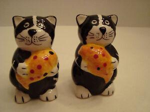 Ceramic-Cat-with-Fish-Salt-amp-Pepper-Shakers
