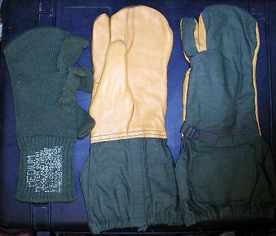 Us Extreme Cold Gloves,leather,trigger Finger,m