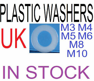new-plastic-NYLON-washers-diif-sizes-Very-low-price
